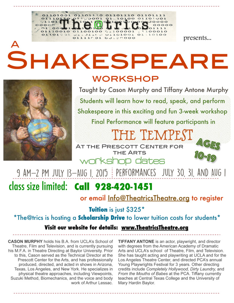 Shakespeare Workshop 2015