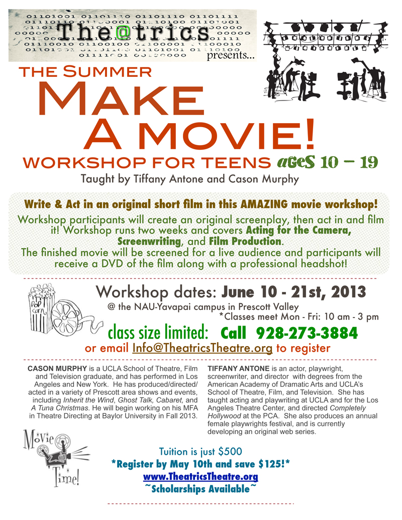 Teen Movie Workshop