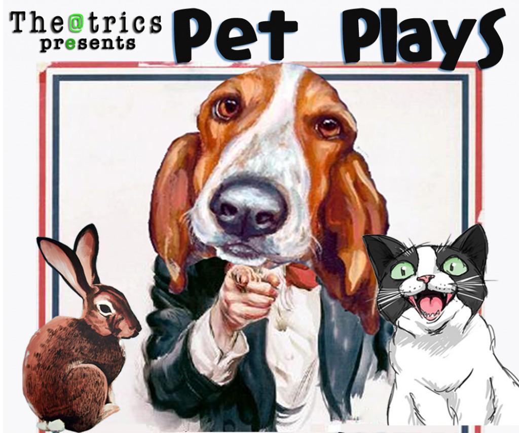 Pet plays crop